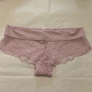 5/$15✨ VS PINK Pale Purple Lace Cheekster Panty
